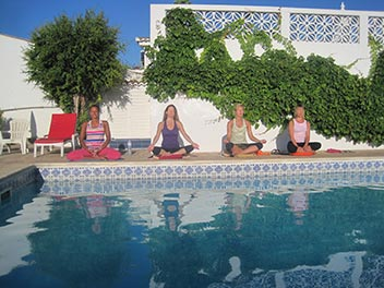 Meditation by the Pool,